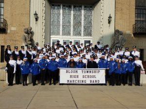 Band at School before Parade