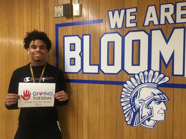 Thanks for Giving Tuesday Bloom Student 2