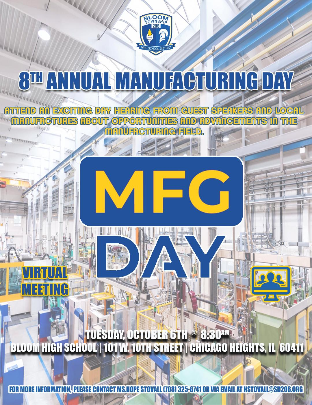 Manufacturing Day   Oct 6 2020