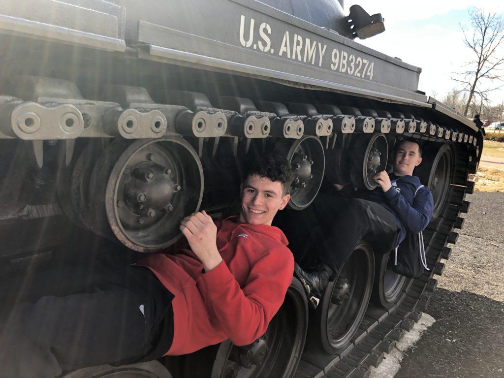Cantigney Field Trip tank